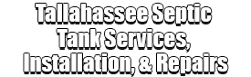 Tallahassee Septic Tank Services, Installation, & Repairs Logo-We offer Septic Service & Repairs, Septic Tank Installations, Septic Tank Cleaning, Commercial, Septic System, Drain Cleaning, Line Snaking, Portable Toilet, Grease Trap Pumping & Cleaning, Septic Tank Pumping, Sewage Pump, Sewer Line Repair, Septic Tank Replacement, Septic Maintenance, Sewer Line Replacement, Porta Potty Rentals
